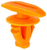 Weatherstrip Retainer Top Head Size: 5mm x 15mm Stem Diameter: 8mm Orange Nylon Stem Length: 8mm Ford Explorer 2014 - On Not Available From O.E.M. 100 Per Box