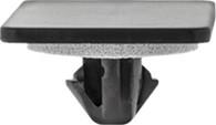 Front Fender Moulding Clip With Sealer Head Size: 20mm x 30mm Stem Diameter: 9mm Black Nylon Stem Length: 10mm Lexus NX 200t, NX 300h, Scion iM and Toyota Corolla & Prius 2015 - On Toyota OEM# 53857-12010 15 Per Box