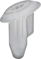 Rear Tail Light Grommet Head Diameter: 18.5mm Stem Length: 24mm Clear Nylon Overall Length: 25mm Acura MDX, RSX, TL, TSX 2016 - 2002 Honda Civic & Fit 2007 - 2001 Honda OEM# 90650-S5A-003 25 Per Box