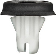 Tail Light Grommet With Sealer Head Diameter: 18mm (Including the Sealer) Stem Length: 15mm White Nylon Overall Length: 18mm Fits Into 10mm Hole Cadillac Escalade & GMC Yukon 2015 - On GM OEM# 22884291 10 Per Box