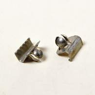 GM/Ford/Chrysler Weatherstrip Clips Zinc Attaches to Felt Strip Between Door And Glass 50 Per Box