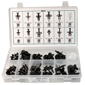 Gm Push-Type Retainers 76 Pieces