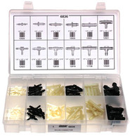 Nylon Connector Quick-Select Assortment Kit 83 Pieces