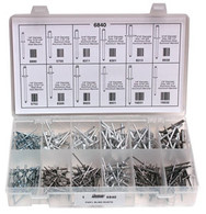 Pan'l Blind Rivets Quick-Select Assortment Kit 291 Pieces See Next Image For Rivet Specs