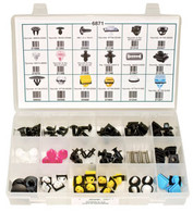 Hyundai & Kia Clips & Fasteners Quick Select Kit 76 Pieces Click Next Image For Application Chart