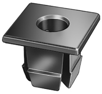 Screw Size: #12 License Plate Nuts Black Nylon Chrysler OEM# 6032516 25 Per Box