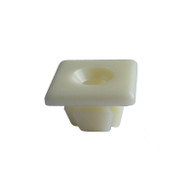 """1/4""""-20 Screw Size Use with Auveco screw 5307 License Plate Nuts Nylon GM OEM# 1196781 50 Per Box Click Next Image For Nut Size Detail"""
