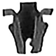 "Stud Size: 3/32"" Range: .032 - .040 1/8"" Hole Diameter Tubular Nuts 100 Per Box"