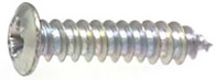 "#8 x 3/4"" Pozi-Drive Phillips Washer Hd Zinc 100 Per Box Click Next Image For Screw Detail"