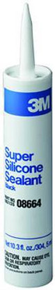 Black Silicone Sealant 3M 8664