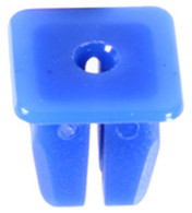Nylon Nut Screw Size: M3.5 (#6) Head Size: 11mm x 11mm Stem Length: 10mm Fits Into 8mm x 8mm Square Hole Subaru 1993-On OEM# 62731-FA010 Blue Nylon 25 Per Box Click Next Image For Clip Detail