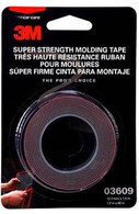 3M 3609 Super Strength Molding Tape 1/2 in x 5 ft