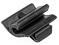 Front & Rear Belt Moulding Clip Width: 14mm Overall Height: 10mm Toyota Camry 1997-2000 OEM# 75791-33020 Black Nylon 15 Per Box Click next Image For Clip Detail