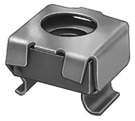 """Cage Nut  5/16""""-18 Thread Size Panel Range: .023 - .063 Fits Square Hole: 1/2"""" Black Phosphate 50 Per Box Click next Image For Cage Nut Size Chart"""