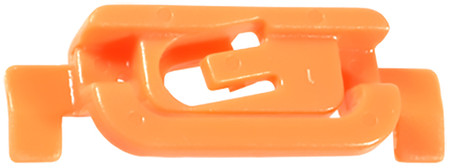 Windshield Moulding Clip Acura Legend/Honda Prelude 1988-On OEM# 91505-SG0-003 Orange Nylon 10 Per Box Click Next Image For Clip Detail