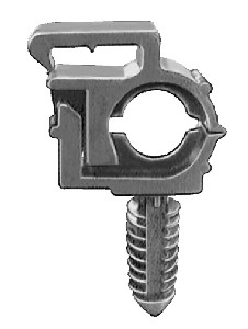 wire loom clips straps denver auto fasteners supply wire loom routing clips inner diameter 1 4 outer diameter 3