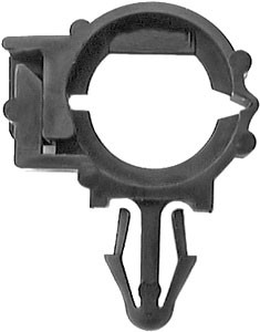 """Wire Loom Routing Clip Inner Diameter: 1/4"""" Outter Diameter: 3/8"""" OEM# 12015631 Nylon Type 4 15 Per Box Click Next Image For Wire Loom Clip Size Chart"""