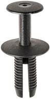 Rear Bumper Support Fixture Trim Retainer Black Nylon Head Diameter: 20mm Stem Length: 21mm Fits Into 8.5mm Hole BMW 3, 5, & 6 Series 2002 - On OEM# 51-12-7-004-445 25 Per Box