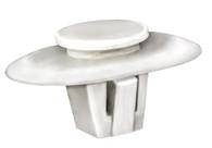 Lexus moulding Clip White Nylon Top Head Diameter: 12mm Bottom Head Size: 18mm x 26mm Stem Length: 10mm Lexus LX 470 2007 - 1998 OEM# 90467-12071 25 Per Box