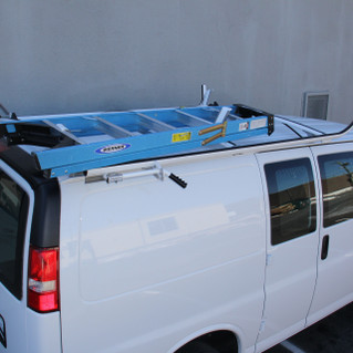 Savana / Express Clamp Down Ladder Rack