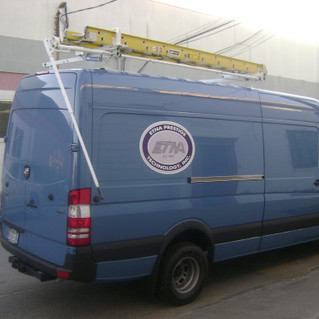 Sprinter Drop Down Ladder Rack