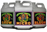 Advanced Nutrients Bloom, Micro & Grow - 4 L Each