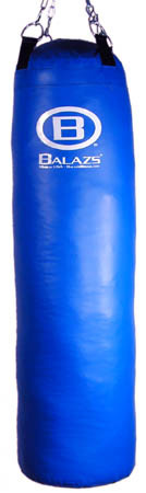 Balazs Boxing Unfilled Heavy Bag with Double End - 100 lb.