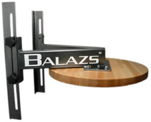 "Balazs Boxing SBP12 Adjustable Speed Bag Wall Mount 30"" Drum"