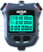 Ultrak 494 - EL/300 Lap Memory Stopwatch