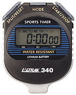 Ultrak 340 Large Display Water Resistant Sports Stopwatch