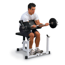 Powerline Fitness Preacher Curl Bench PPB32X