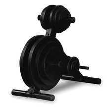 Powerline Fitness EZ-Load Olympic Weight Tree
