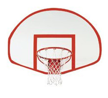Spalding Fiberglass Fan-Shaped Basketball Backboard