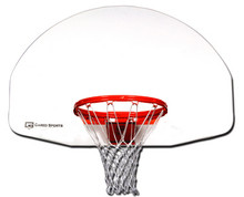 Gared Sports Economy Fan-Shaped Aluminum Basketball Backboard 2