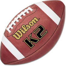 Wilson K2 PeeWee League Leather Game Football F1382