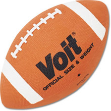 Voit CF9 Senior Rubber Football - Official Size