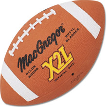MacGregor X2L Official Size Rubber Football