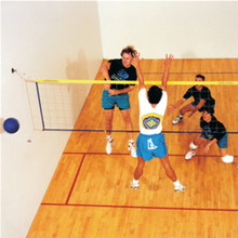 Wallyball Court Hardware For Wood or Concrete Courts