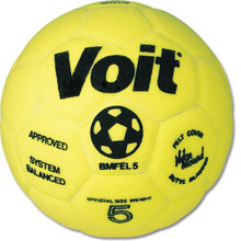 Voit Indoor Felt Soccer Ball - Size 4