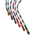 US Games  16' Segmented Skip Rope Green/White