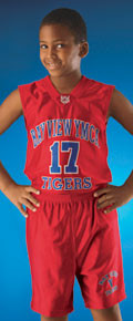 Alleson Athletic 538ZY Youth Dazzle Basketball Jersey
