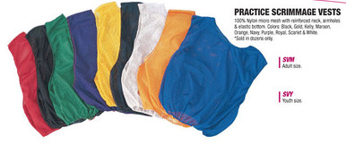 Champion Sports SVM Lightweight Practice Scrimmage Vests - Dozen