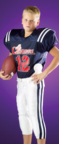 Alleson Athletic 757Y Youth Game Football Jersey