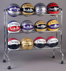Champion Sports Ball Rack - BRC3