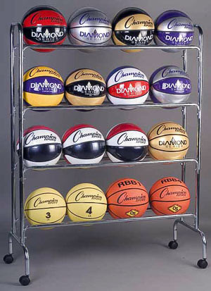 Champion Sports Ball Rack - BRC4