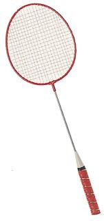 Champion Sports All Steel Shaft and Frame Badminton Racket