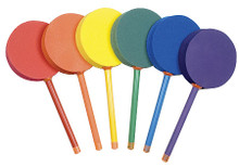 Champion Sports 12-inch Foam Colored Badminton Paddle Set