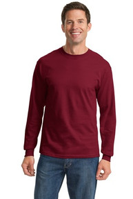 Port & Company 100% Cotton Essential Long Sleeve T-Shirt PC61LS