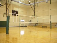 Gared Sports Collegiate 2 Court Volleyball System