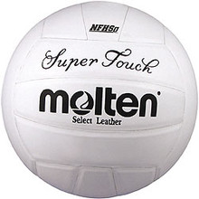 Molten White Super Touch Volleyball